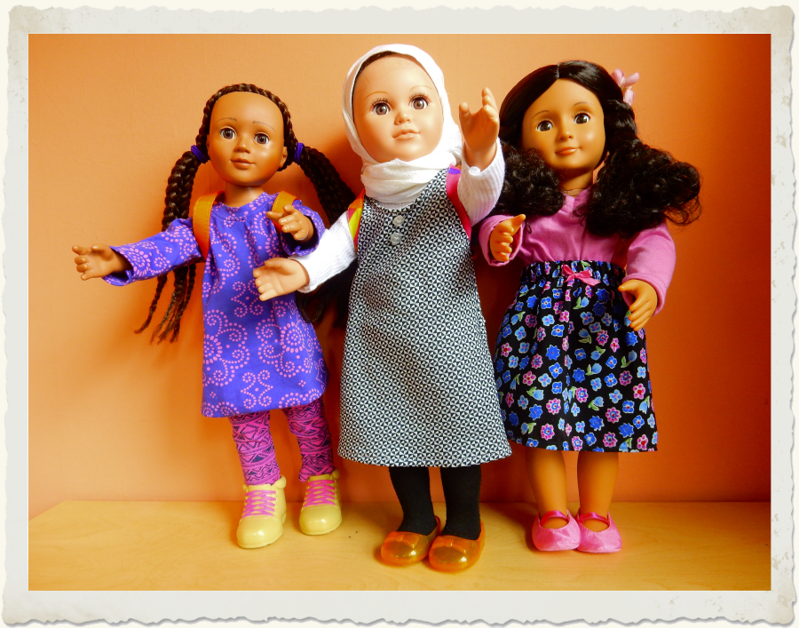 Refugee Dolls - Welcome
